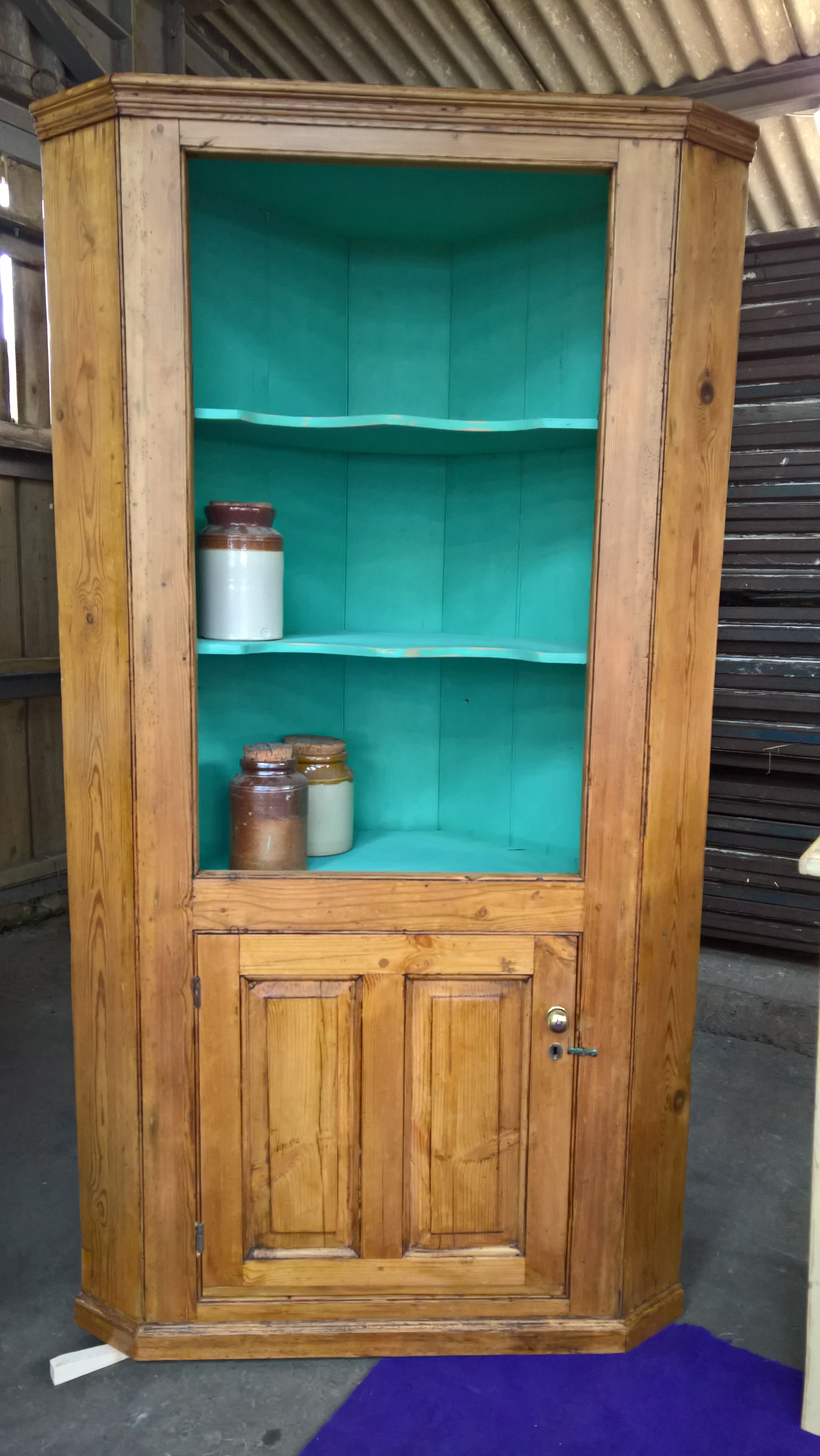Beautiful For Sale Item # PD11015 We Donu0027t Get A Lot Of Corner Units. As They Go,  This Old One Is Quite A Good Looking And Useful One. It Is A Good Size, ...