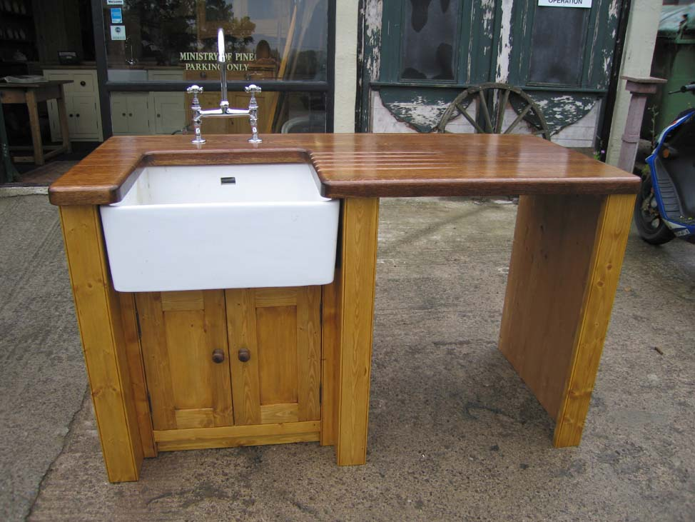 This Sink But Still Looks Great With The Lovely Thick Solid Oak Top